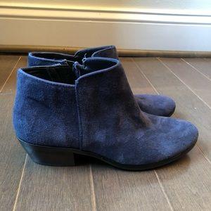 Sam Edelman Blue Ankle Boots